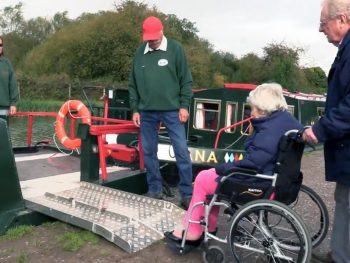 Accessible boats available for day hire