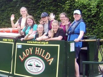 Youth Groups on Lady Hilda