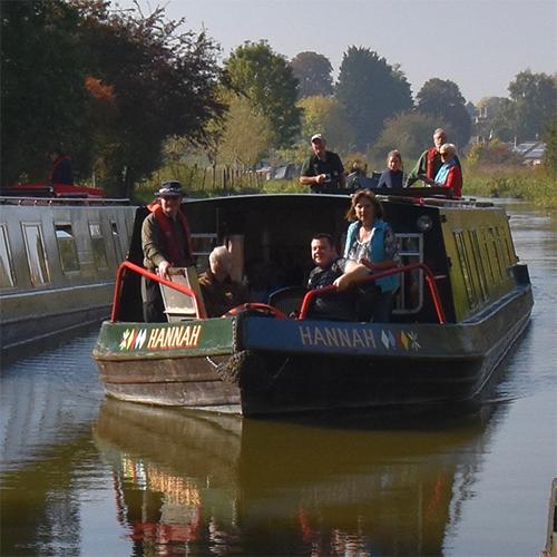 A trip on the canal on the Hannah