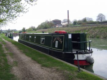 The Lady Hilda canal boat